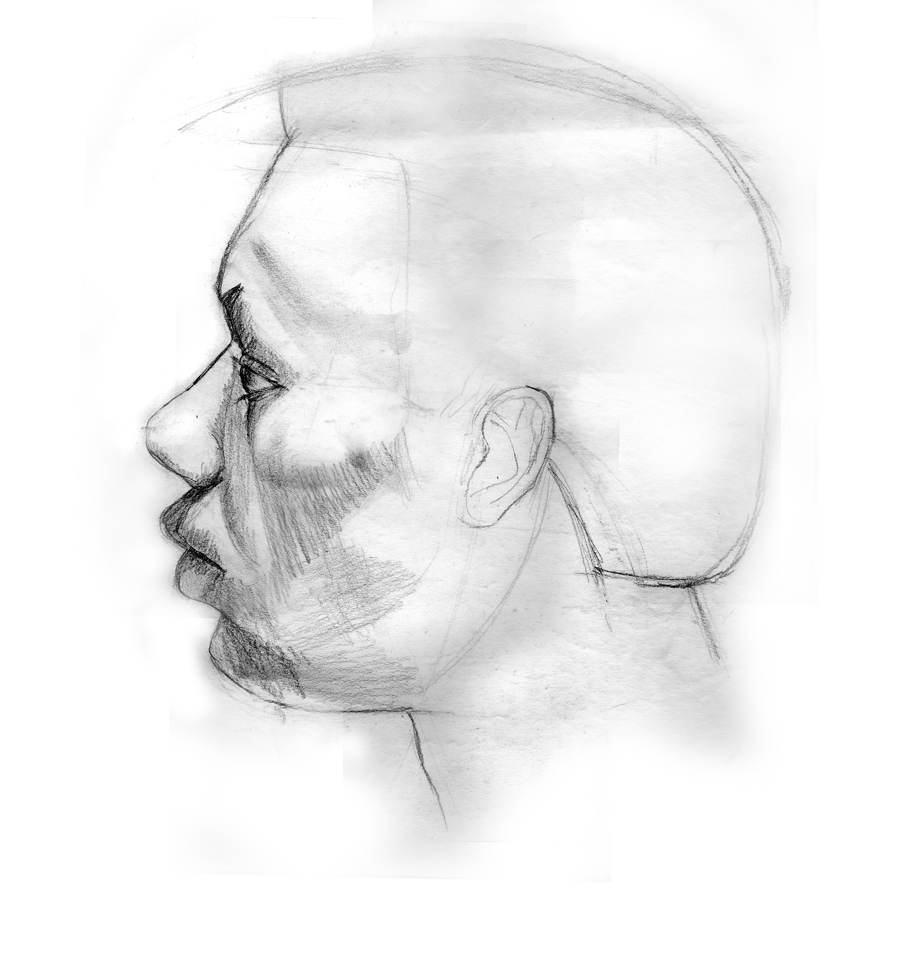 Day 18, A Drawing a Day, Studio Life, graphite drawing, by artist Michael Brugh
