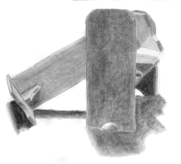 Day 23, A Drawing a Day, Drawing Foundations, graphite, artist Michael Brugh